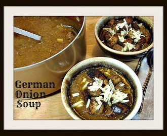 German Onion Soup - #SundaySupper - One Pot Recipes