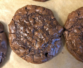 Cookie com dois chocolates - Double chocolate cookie