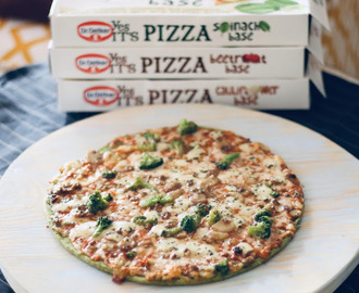 Novas pizzas Dr. Oetker - YES it's Pizza