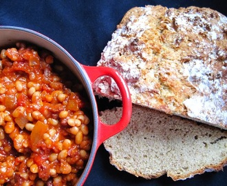 Proper Baked Beans on Soda Bread Toast - Tom Kerridge