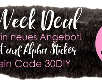 Black Week Deal - 30% auf alle Alpha Sticker