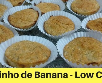 Bolinho de Banana - Receitas Low Carb - YouTube