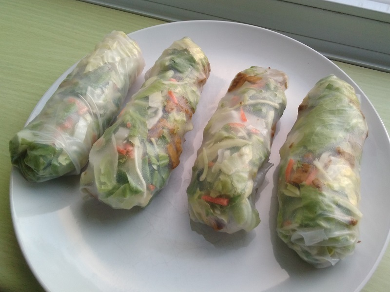 Food: Vegan Spring Rolls