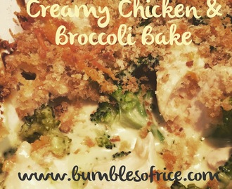Creamy Chicken and Broccoli Bake