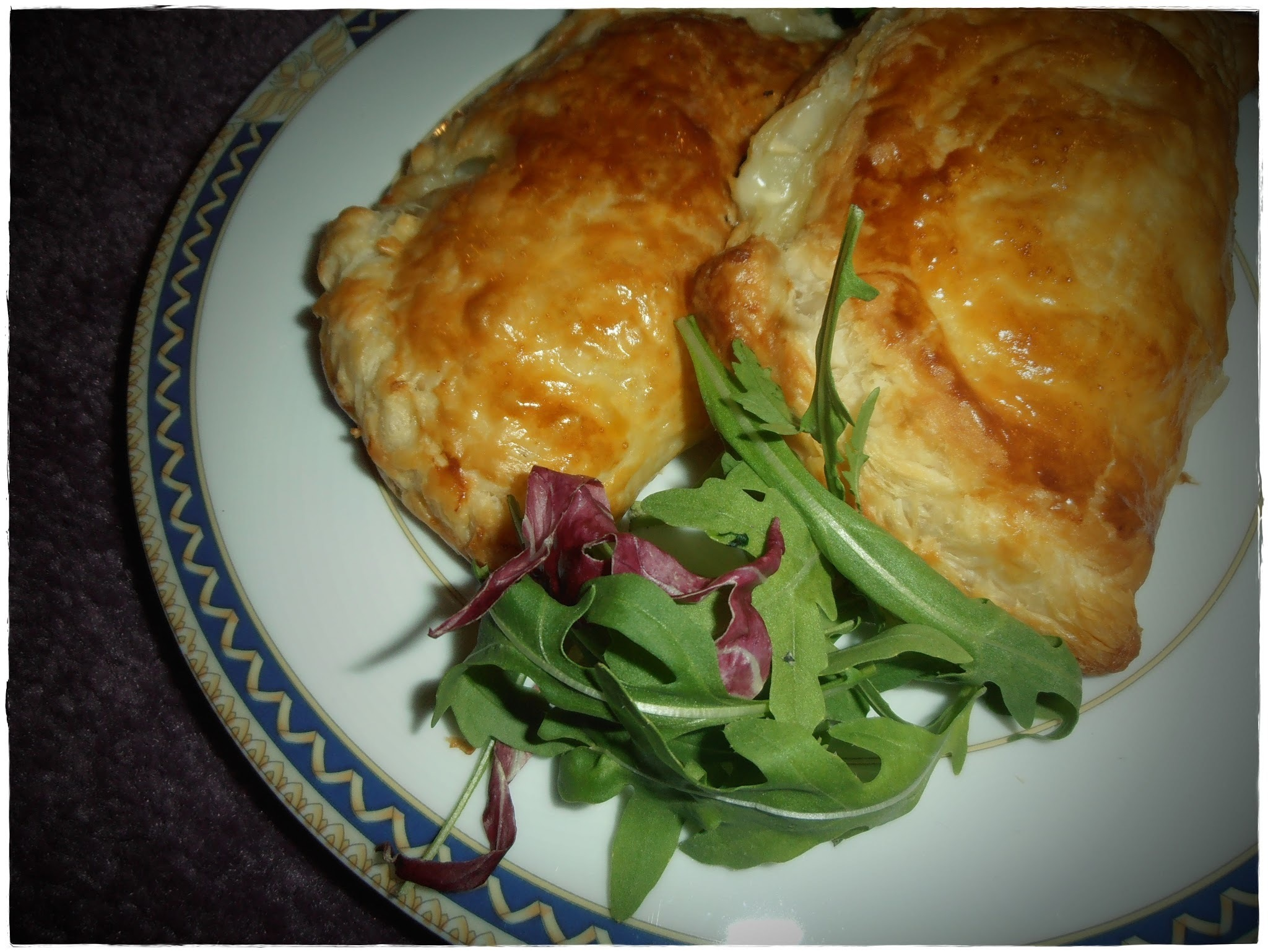 Cornish pasty with cheese and onion :)