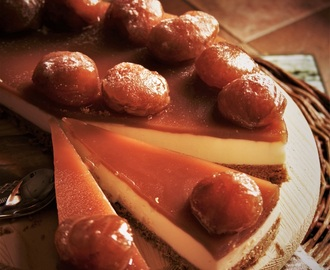 CHEESE CAKE FARCITA AI MARRON GLACE