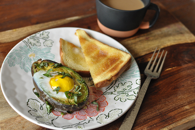 Avocado Baked Eggs Recipe
