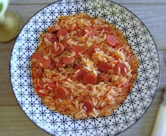 Arroz com salsichas | Food From Portugal