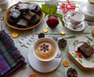 Coffee Pop-In with Roasted Hazelnut Brownies