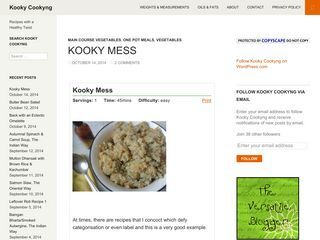 Kooky Cookyng | Recipes with a Healthy Twist