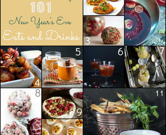 101 New Year's Eve Eats and Drinks