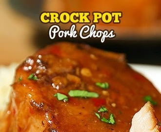 Crockpot Pork Chops (With Video)