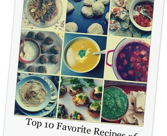My Top 10 Favorite Recipes of 2013