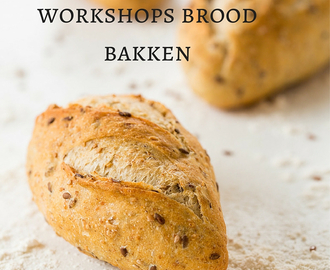 Boek 2 en data workshops brood bakken t/m augustus 2016