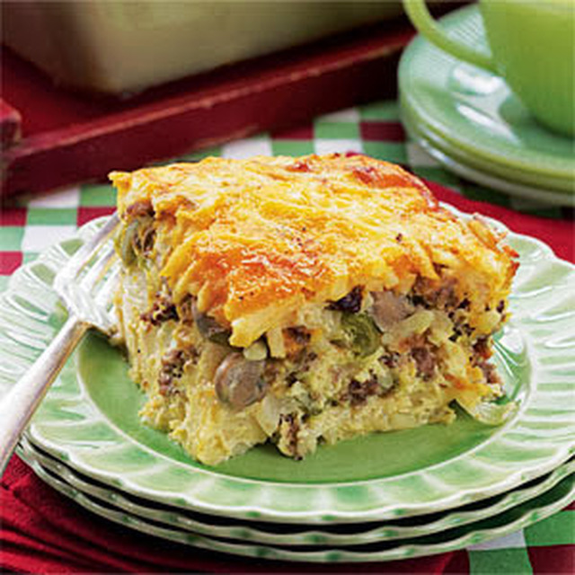 Breakfast Casserole Crock Pot Style