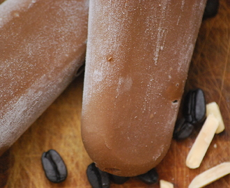 Mocha Almond Fudgsicles