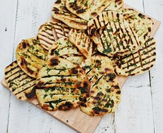 Toddler Approved! Herby Flat Breads (Just 4 Store Cupboard Ingredients!!!!)