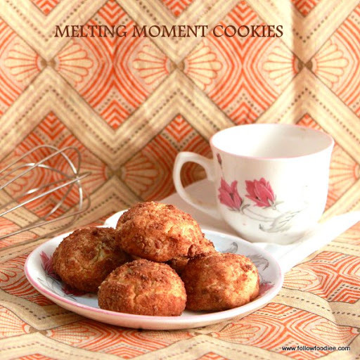 MELTING MOMENTS COOKIES | EASY COOKIES RECIPES