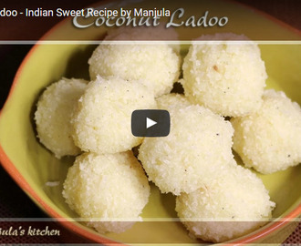 Coconut Ladoo Recipe Video