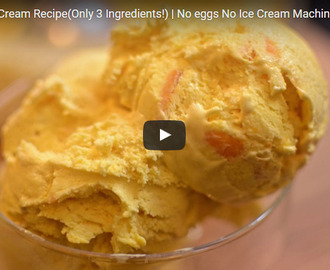 Mango ice cream Recipe Video