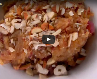 Apple Halwa Recipe Video