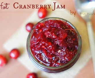 Red Hot Cranberry Jam