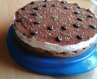 Tiramisu Torte in naked Version