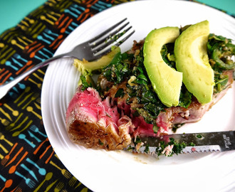 Paleo Tuna w Avocado, Ginger & Lime (Recipe Revisit)