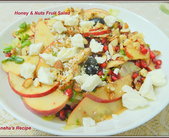 Honey & Nuts Fruit Salad#Improv
