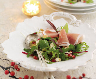 RECIPE: Parma Ham Christmas Salad