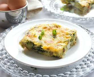 Veggie Breakfast Egg Bake