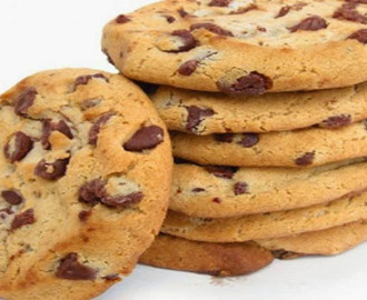 Receita Cookies com Chocolate