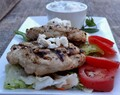 #ad Greek Style Chicken with Tzatziki Sauce (Gluten Free!)