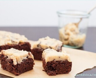 Keksteig pur: Chocolate Chip Cookie Dough Brownies