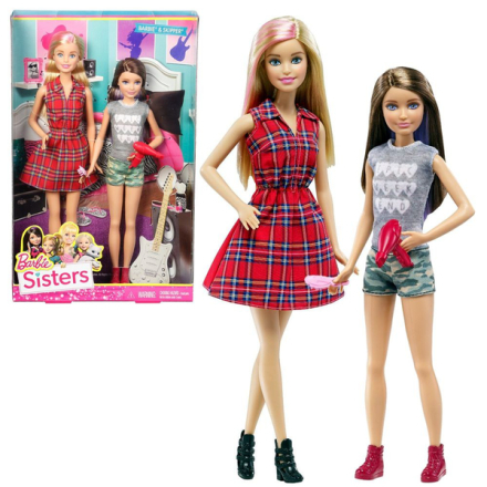 Barbie & skipper family - sister pack - barbie docka - nyhet