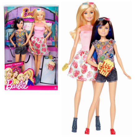 Barbie & skipper 3d bio pack sister pack - barbie docka - ny
