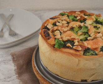 Quiche met Broccoli & Brie