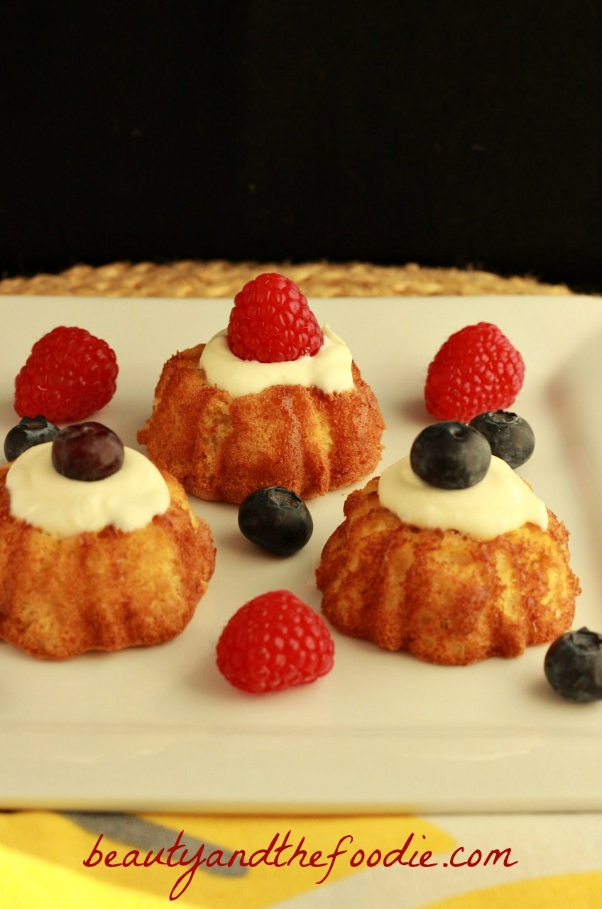 French Vanilla Angel Food Cake, grain free