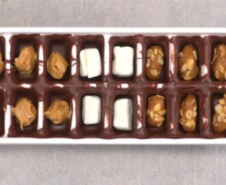 Ice Cube Tray Chocolates