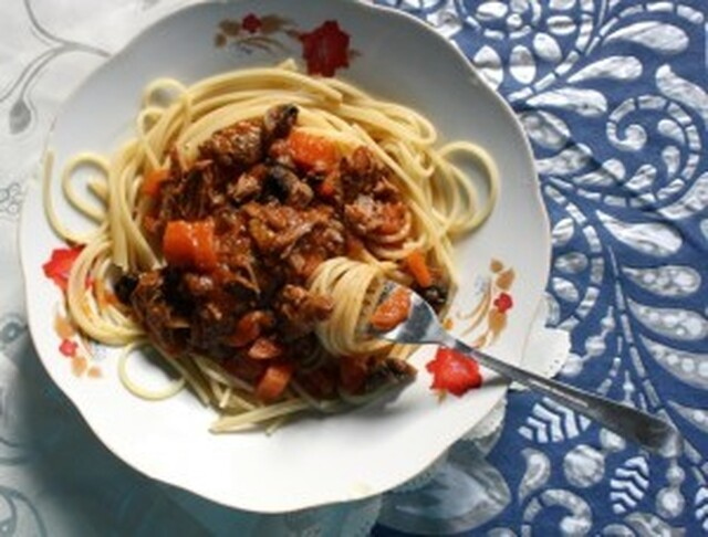Lamb Ragout and Pasta for #SundaySupper
