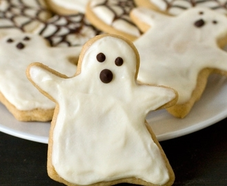 Healthier Halloween Sugar Cookies