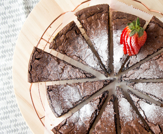 Boterkoek brownie