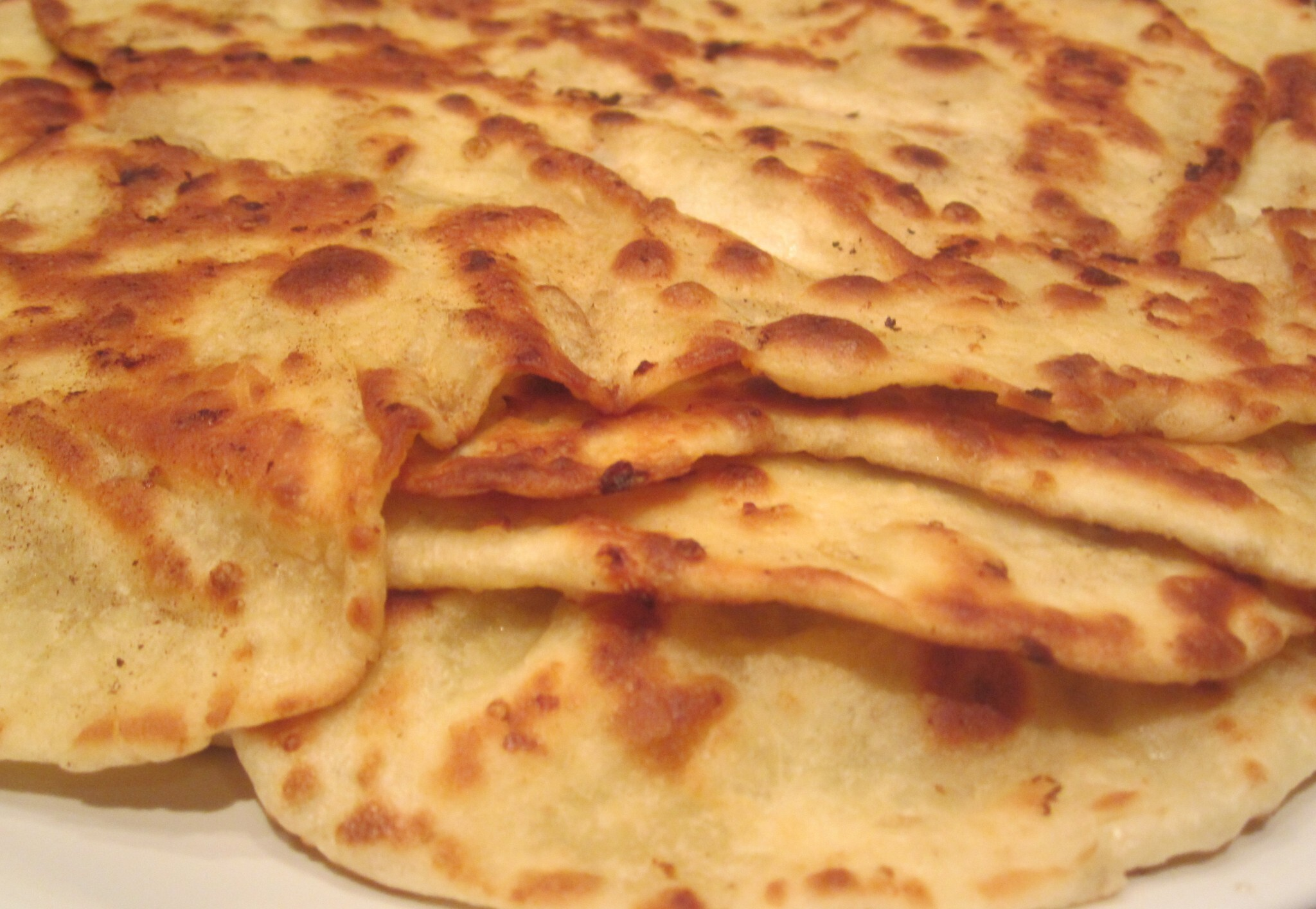 Pain indien Naan au fromage