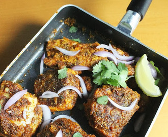 Amritsari Tawa Fish Fry – Pan Fried Amritsari Fish