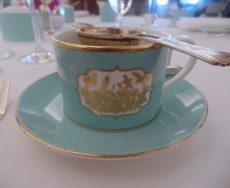afternoon tea at fortnum & mason, piccadilly, london.