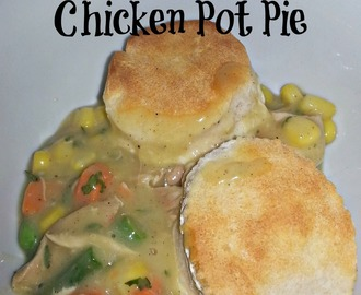 Weight Watchers Chicken Pot Pie Recipe #linky
