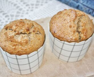Healthy muffins met noten