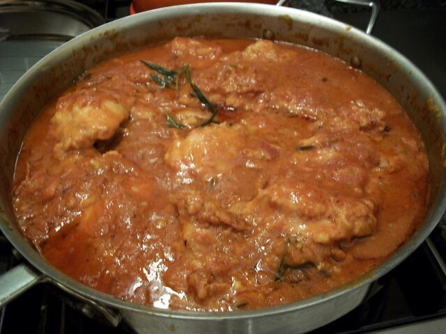 Chicken Cacciatore with Chloe