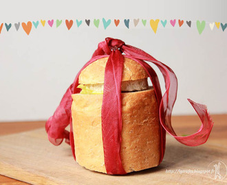 pain de mie surprise pour la Saint Valentin