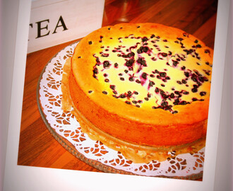 Leilas New York blueberry cheesecake